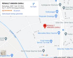 Harita-Renault Ankara Özel Servis